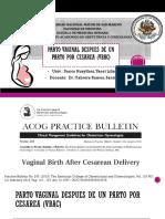 1_Vaginal Birth After Cesarean Delivery