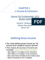 CHAPTER 2 Gross Income and Exclusions