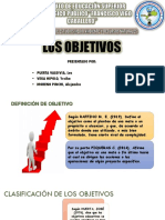 Los Objetivos - Yessi Vega Diapositiva