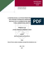 FUTURO DE PROCESO CONTENCIOSO ADMINISTRATIVO