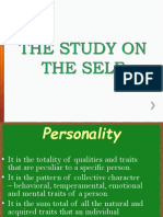 THE STUDY ON THE SELF