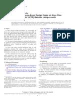 E2478-11 Standard Practice for Determining Damage-Based Design Stress for Glass Fiber Reinforced Plastic (GFRP) Materials Using Acoustic Emission.pdf