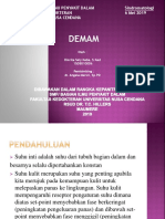 Sindromatologi Demam