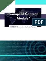 WQU MScFE Discrete-time Stochastic Processes Module 1