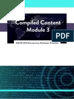 WQU MScFE Discrete-time Stochastic Processes M3