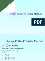 Runge-Kutta 4 method