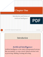 AI-Chapter One