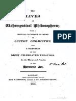 The lives of alchemystical phi - Francis Barrett, Lives_20409.pdf