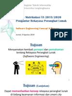 Prapasca MTI Tahun 2019-2020 9 Agustus 2019