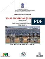 CTS Solar Technician (Electrical)_CTS_NSQF-4