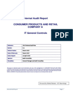 CONSUMER PRODUCTS AND RETAIL COMPANY A - ITGC Internal Audit Report (Autosaved)