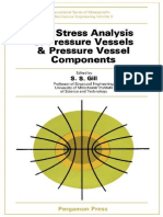Stress analysis of Pressure Vessel and Pressure Vessel component