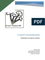 Înființare cultură ciuperci