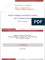 Appunti Machine Learning