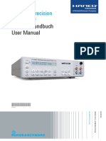HM8112 3 Digit Precision Multimeter UserManual de en 03