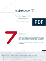 IMCA-Event-2018!09!27 - Presentation 7 - Understanding Your Limits (Subsea7)
