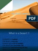 The Desert Animals - Rohan