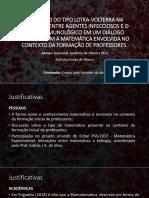 O MODELO DO TIPO LOTKA-VOLTERRA NA INTERAÇÃO ENTRE.pptx