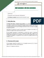 Teorema del coseno o de los cosenos_ enunciado, demostración y problemas resueltos de su aplicación.pdf
