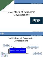 Indicators of Economic Growth