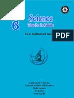 Science G6 Sri Lanka Teacher's Guide