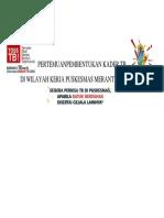 SPANDUK PERTEMUANPEMBENTUKAN KADER TB.docx