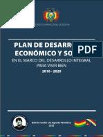 PLAN DE DESARROLLO bolivia 2016 - 2020.pdf