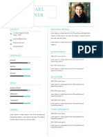 Fresher Resume Template US
