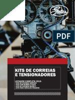 Gates Catalogo Kits de Correias 2019