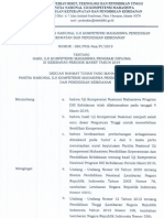360_SK Hasil Uji Kompetensi Program DIII Kebidanan Maret 2019