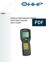 Dolphin 7300 Mobile Computer User Guide