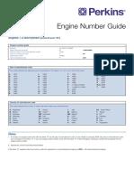 Engine Perkins (Number Guide