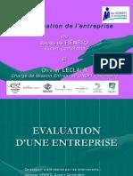 Evaluation Entreprise