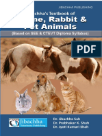 Jibachha's Textbook of Equine,Rabbit & Pet Animals-by Dr. Jibachha Sah