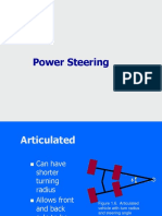 Articulated Power Steering