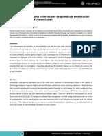 El Uso De Los Videojuegos Como Recurso De Aprendizaje En Educación.pdf