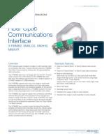 85010-0131 -- Fiber Optic Communications Interface