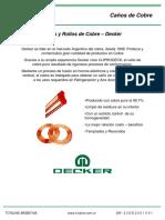 caños de cobre decker especificaciones.pdf