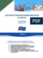 2015-12-Cop21-Les Ports Francais Mobilises Pour La Cop21