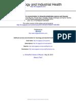 Amatoxin and Phallotoxin Concentration i