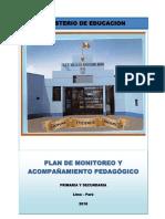 PLAN ANUAL DE MONITOREO Y ACOMPAÑAMIENTO  PEDAGOGICO 2018.docx