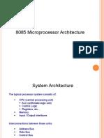 Lecture 2_architecture_8085 Microprocessor Part I