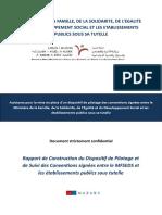 Conventions Signées Entre Le MFSEDS Et Les Établissements Publics Sous Tutelle