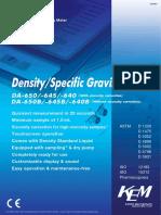 KEM densitometers