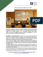 Conferencia - La educación no debe ser un filtro, sino un salto - Eric Mazur.pdf