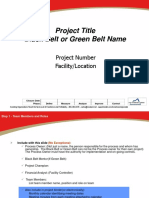 6SigmaProject Template (Conejo).ppt
