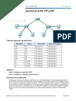 2.1.4.4 Packet Tracer - Configure VLANs, VTP, and DTP.pdf