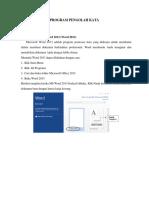 Materi MS WORD 2013