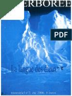 Hyperborée Aux Sources de l'Europe - La Langue Des Dieux