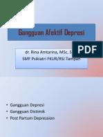 Gangguan Afektif Depresi Blok 14-2017